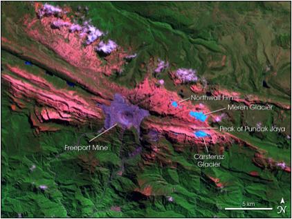 Freeport mine 2007