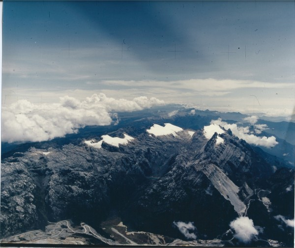 View of Carstenz glacier 1995